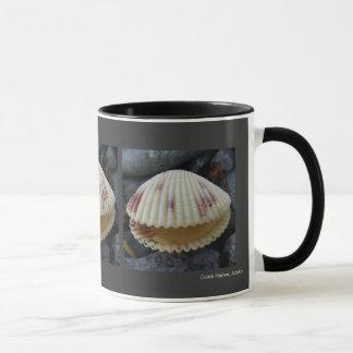 Spotted Cockle Clam on Unalaska Island Mug