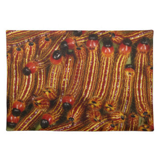 Spotted Datana Moth Caterpillars Placemats