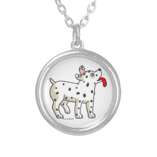 Spotted Dog Necklace