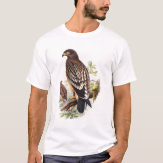 Spotted Eagle John Gould Birds of Great Britain T-Shirt