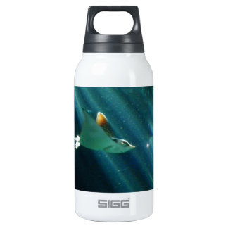 spotted eagle ray morning light insulated water bottle