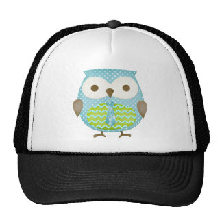Spotted Executive Owl Mesh Hat