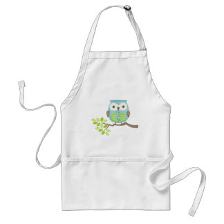 Spotted Executive Owl in Tree Apron