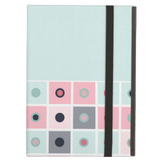 Spotted geometric pattern cover for iPad air