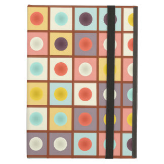 Spotted geometric pattern iPad air covers