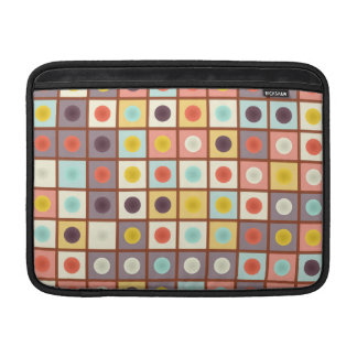 Spotted geometric pattern sleeves for MacBook air