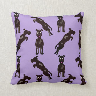 SPOTTED GOOD DOG PILLOW ULTRA VIOLET