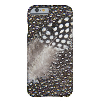 Spotted Guinea fowl feather Barely There iPhone 6 Case
