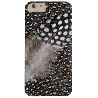 Spotted Guinea fowl feather Barely There iPhone 6 Plus Case