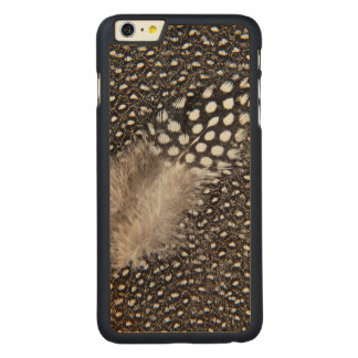 Spotted Guinea fowl feather Carved® Maple iPhone 6 Plus Case