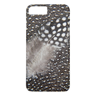 Spotted Guinea fowl feather iPhone 8 Plus/7 Plus Case