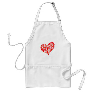 Spotted Heart Aprons