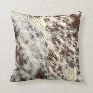 Spotted Horse / Cow Hide / Animal Fur Image Cushion
