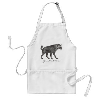 Spotted Hyena Apron