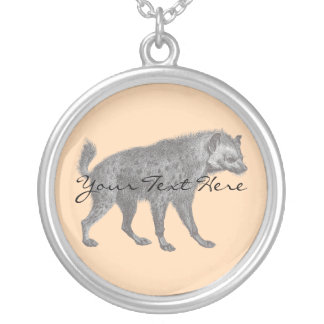Spotted Hyena Necklace