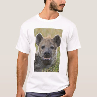 Spotted Hyena portrait, Crocuta croduta, Masai T-Shirt