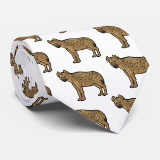 Spotted Hyena Tie