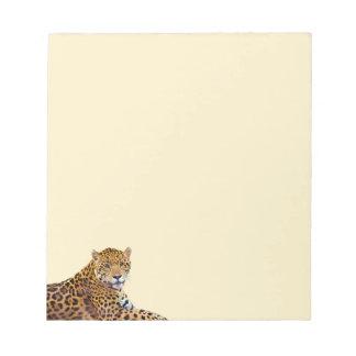 Spotted Jaguar Big Cat-lover #Gift Notepad