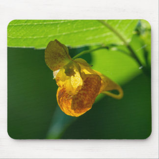 Spotted Jewelweed Yellow Wildflower Mousepad