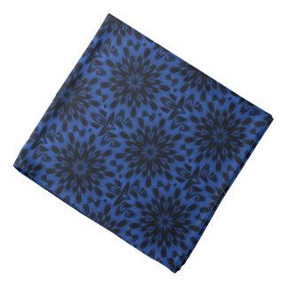 Spotted Leopard Blue Mandala Bandanas