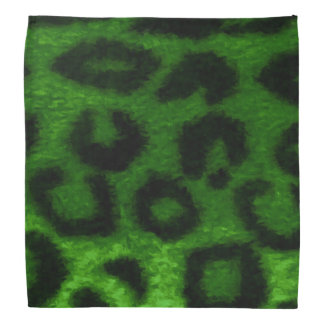 Spotted Leopard Green Do-rag