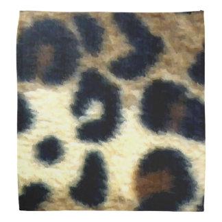 Spotted Leopard Print Bandanna