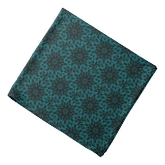 Spotted Leopard Turquoise Teal Mandala Do-rags