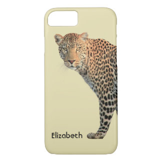 Spotted Leopard Wild Cat Photograph iPhone 7 Case