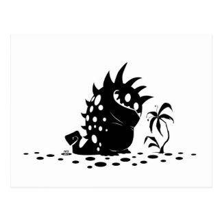 Spotted Monster Postcard