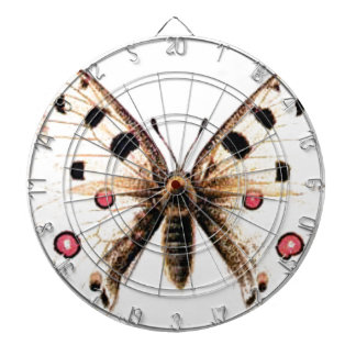 Spotted moth dartboard
