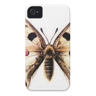 Spotted moth iPhone 4 case