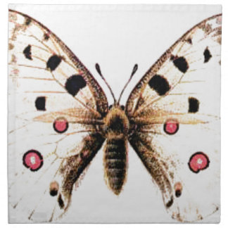 Spotted moth napkin