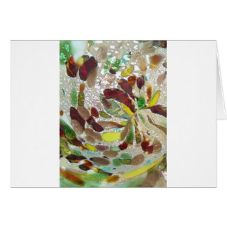 Spotted Murano Detail Study Card