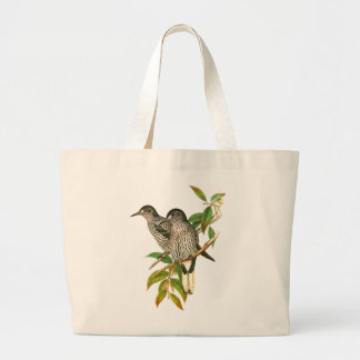 Spotted Nutcracker Large Tote Bag