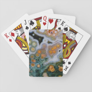 Spotted Ocean Jasper Playing Cards