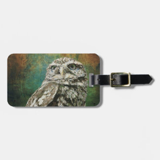 Spotted Owl Luggage Strap Luggage Tag