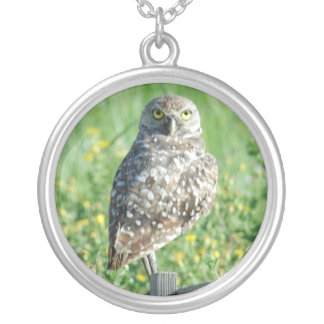 Spotted Owl Necklace