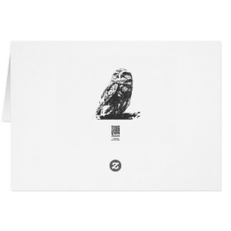 Spotted Owl Notecard