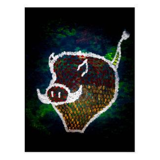 """""""Spotted Pig"""" JTG Art Postcard"""