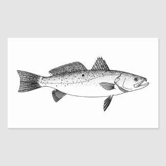 Fish Icon Stickers on sea fishing grouper
