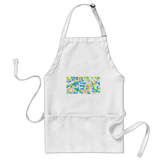 spotted standard apron