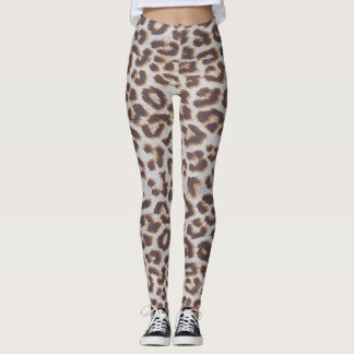 Spotted Textile Leggings