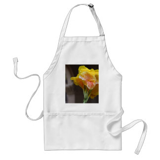 Spotted Yellow Flower Aprons