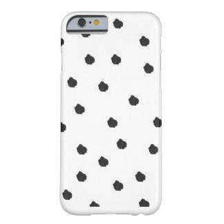 Spottie Dots Black Polka Dot Phone Case Cover