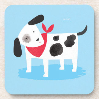 Spotty Dog Beverage Coasters