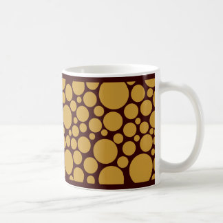 Spotty Shades of Coffee Coffee Mug