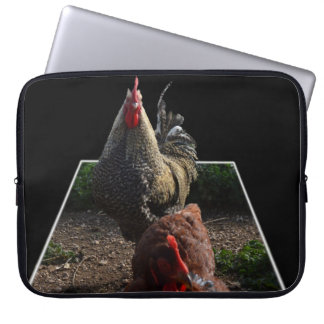 Spotty Speckled Rooster, Laptop Sleeve