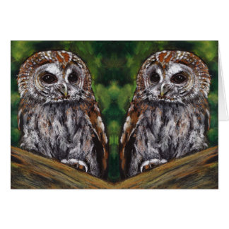 Spouse Anniversary: Owls: A HOOT Being With You Card