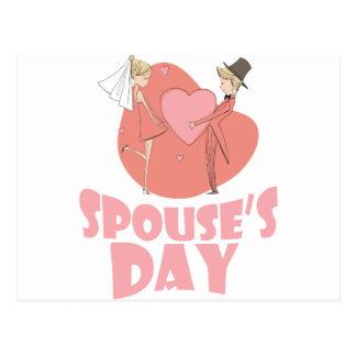 Spouse's Day - Appreciation Day Postcard