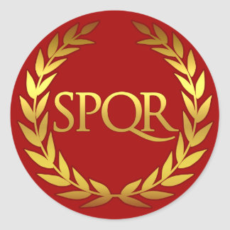 SPQR Roman sticker
